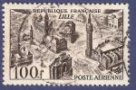 Sellos de Europa - Francia -  FRA Yvert 24 Aérien Lille 100 aéreo