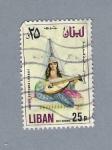 Stamps Asia - Lebanon -  Costumbres Libanesas