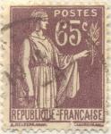 Stamps France -  Postes Republique française