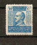 Stamps Europe - Morocco -  Marruecos / Beneficencia