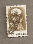 Stamps India -  Planta algodón