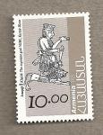 Stamps Asia - Armenia -  Khaldi, el dios supremo