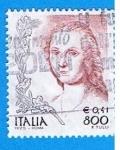 Sellos de Europa - Italia -  F.Tulli