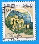 Stamps Italy -  Castillo de Rocca Sinibalda