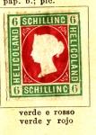 Sellos del Mundo : Europa : Alemania :  Heligoland Colonia Ed 1867