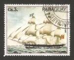 Sellos del Mundo : America : Paraguay : Fragata Cuxhaven