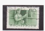 Sellos de Europa - Hungría -  revisor e tren