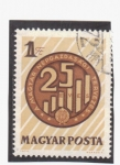 Stamps of the world : Hungary :  25 aniv.