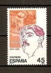 Sellos de Europa - España -  Personajes / Juan Gris.