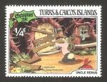 Sellos del Mundo : America : Islas_Turcas_y_Caicos : Navidad de Walt Disney
