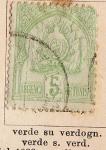 Stamps Africa - Tunisia -  Dominio Frances, Escudo