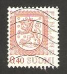 Stamps : Europe : Finland :  escudo nacional