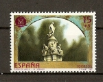 Stamps Spain -  Madrid Capital Europea de la Cultura