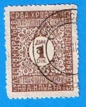 Stamps Europe - Serbia -  Cifras