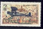 Stamps Spain -  50º. Aniversario Correo Español