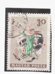 Stamps Hungary -  actuaciones de circo