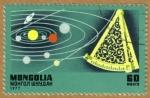 Sellos de Asia - Mongolia -  Espacio