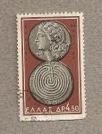 Stamps Greece -  Moneda antigua