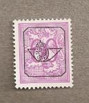 Stamps Belgium -  León rampante