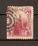 Stamps America - United States -  Hawaii / Estatua de Kamehameha I