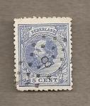 Stamps Netherlands -  Rey Guillermo III