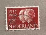 Stamps Netherlands -  Reina Juliana y principe Bernardo