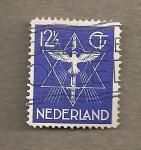 Stamps Netherlands -  Estrella y paloma