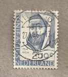 Sellos de Europa - Holanda -  San Bonifacio