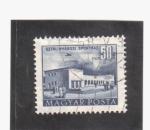 Stamps Hungary -  plan de construcción