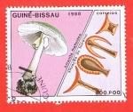 Sellos de Africa - Guinea Bissau -  Amanita fhallloides