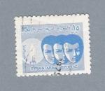 Stamps Asia - Syria -  Mascaras