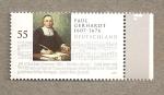 Stamps Germany -  Paul Gerhardt