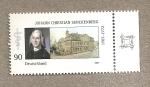 Stamps Germany -  Johann Christian Senkenberg