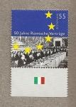 Sellos de Europa - Alemania -  50 años tratad de Roma