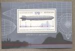 Stamps Germany -  Día del sello:Vuelo histórico del Zeppelin a Suramérica