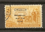 Stamps United States -  Gold Miner,Pioners and S.S./Oregon