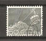 Stamps Switzerland -  Serie Basica./ Telesferico de Saentis.