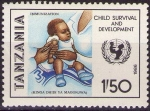 Sellos de Africa - Tanzania -  Vacunas