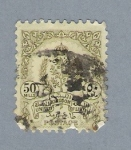 Stamps Africa - Libya -  Escudo