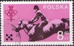 Sellos de Europa - Polonia -  Juegos Olimpicos de Moscu