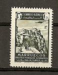 Stamps Africa - Morocco -  Paisajes y avion en vuelo