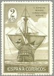 Stamps of the world : Spain :  ESPANA 1930 532 Barcos España: Carabela Santa Maria NUEVO