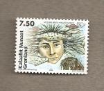 Stamps Europe - Greenland -  Mitología nórdica:la madre del mar