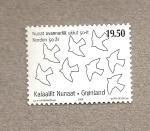 Stamps Greenland -  50 Aniv de la Unión Nórdica