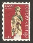 Sellos de Europa - Grecia -  europa cept, escultura