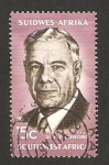 Stamps Africa - Namibia -  Suroeste Africano - presidente hendrik verwoerd frensch