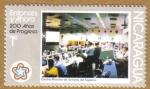 Stamps Nicaragua -  200 Años de Progreso
