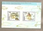 Stamps Europe - Greenland -  Bloque mitología de Groenlandia
