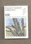 Stamps Greenland -  Arboles fósiles