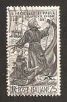 Sellos de Europa - Italia -  450 anivº de la muerte de san francisco de paula